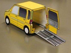 papier pour assurer une voiture fabriquer avec vos petits une voiture en papier trop cool une. Black Bedroom Furniture Sets. Home Design Ideas