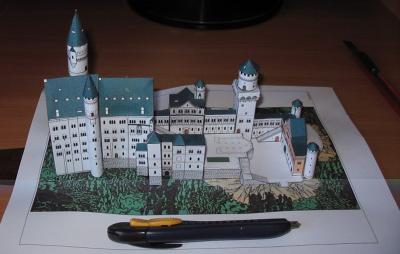 neuschwanstein castle le forum en papier. Black Bedroom Furniture Sets. Home Design Ideas