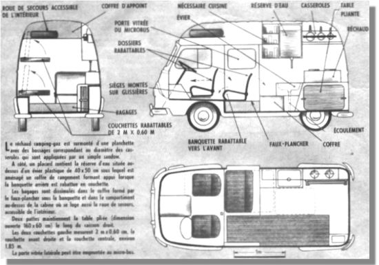 Estafette renault for Interieur estafette