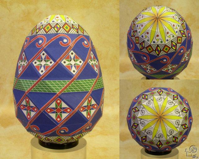 Как из бумаги сделать яйцо 588