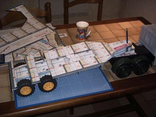 le porte char scammell au 1 72 le forum en papier. Black Bedroom Furniture Sets. Home Design Ideas